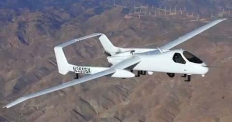 Mỹ ra mắt máy bay trinh sát không người lái mới