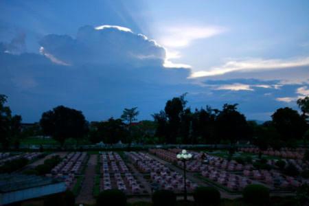 Nghệ An: Xuất hiện đám mây lạ hình rùa