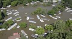 Nước lụt đe dọa nhiều bang của Mỹ