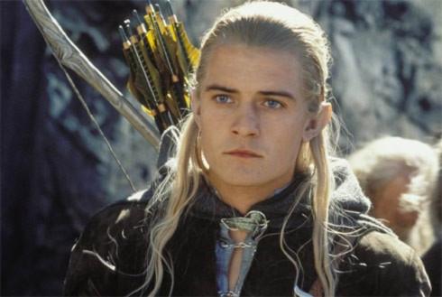 Orlando Bloom trong vai Legolas.