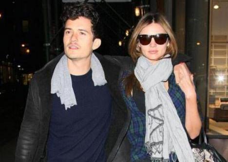 Orlando Bloom đang hạnh phúc trong cuộc hôn nhân với Miranda Kerr.