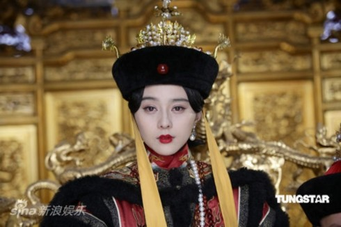 Đây là lần đầu Phạm Băng Băng vào vai một nhân vật quyền lực trong triều đại phong kiến.