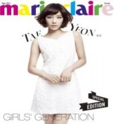 SNSD đầy nữ tính trên Marie Claire