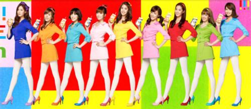 SNSD rực rỡ sắc màu trong quảng cáo mới