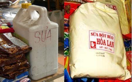 """Sữa bột bán theo cân: Chất lượng """"đảm bảo"""" bằng lời nói"""