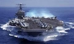 Tàu sân bay từng thủy táng Bin Laden tới Philippines