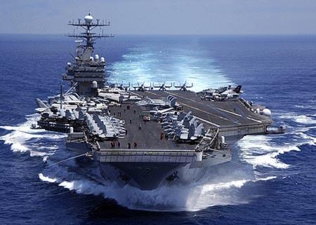 Tàu sân bay USS Carl Vinson của Mỹ. Ảnh: Navy.