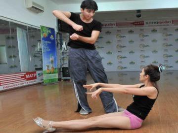 Thu Minh, Thanh Thúy tích cực tập nhảy