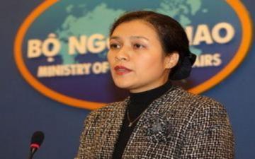 'Việt Nam kiên quyết phản đối hành động của Trung Quốc'
