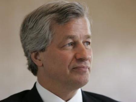 CEO của JP Morgan Chase. Ảnh: AP