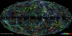 50.000 dải thiên hà rực rỡ trên bản đồ vũ trụ 3D