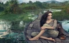Angelina Jolie tới Campuchia chụp ảnh quảng cáo