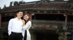 Ảnh cưới lãng mạn của Khánh Ngọc ở phố cổ Hội An