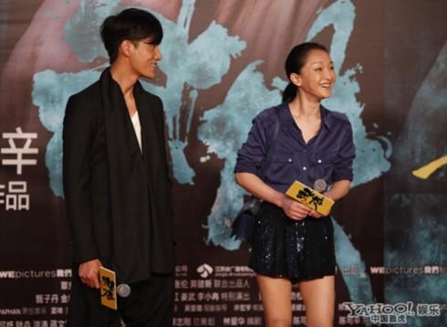 Tuy vậy, họ vẫn thường xuyên xuất hiện cùng nhau. Tại buổi chiếu phim, Trần Khôn và Châu Tấn có buổi trò chuyện ngắn với báo chí trước giờ chiếu.