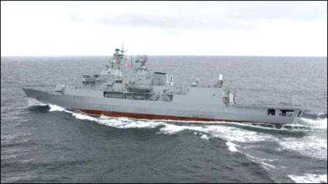 Chiến hạm của hải quân New Zealand vừa cập bến Sài Gòn