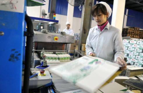Nhiều doanh nghiệp phải thu hẹp sản xuất trong 6 tháng đầu năm 2011. Ảnh minh họa: Hoàng Hà