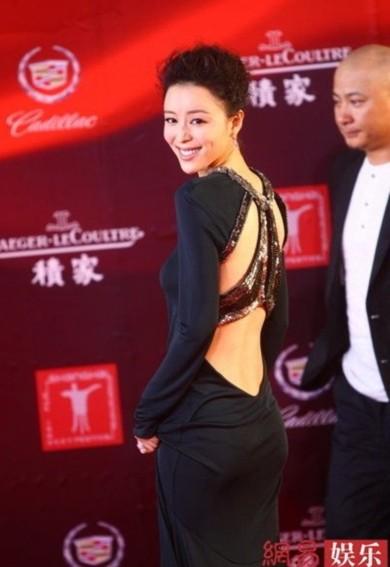 Giám khảo gợi cảm Trương Tịnh Sơ.