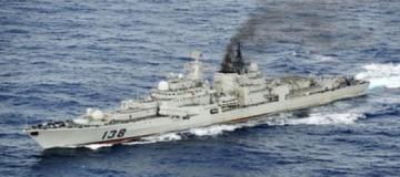 Đoàn chiến hạm Trung Quốc lượn gần Nhật Bản