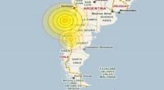 Động đất 6,2 độ Richter ở Chile
