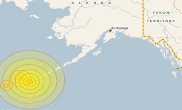 Động đất 7,4 độ Richter, Mỹ cảnh báo sóng thần