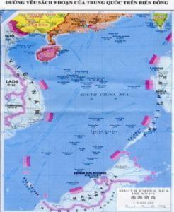 'Đường lưỡi bò gây căng thẳng Biển Đông'