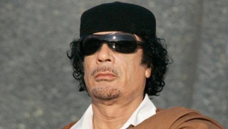 Đại tá Muammar Gadhafi. Ảnh: AFP.