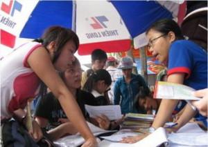 Hà Nội đã có hàng nghìn chỗ ở miễn phí cho thí sinh thi ĐH