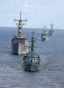 Hải quân 5 nước Đông Nam Á tập trận chung với Mỹ