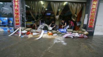 Hai triệu người Trung Quốc bị ảnh hưởng vì lũ lụt