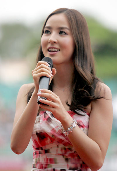Han Hye Jin cho biết, Đây không phải là lần đầu tiên cô đến Việt Nam vì thế cô không có nhiều cảm giác lạ lẫm.