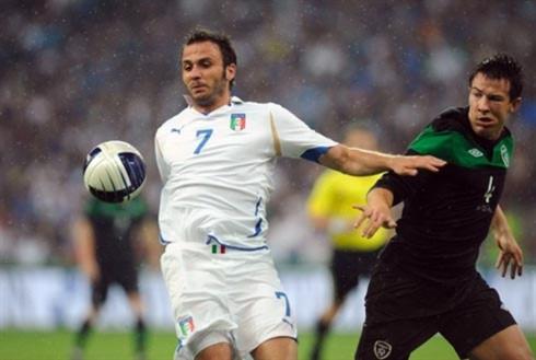 Thất bại trong trận giao hữu với Ireland sẽ giúp Italy rút ra nhiều bài học kinh nghiệm cho chặng đường phía trước. Ảnh: AFP.