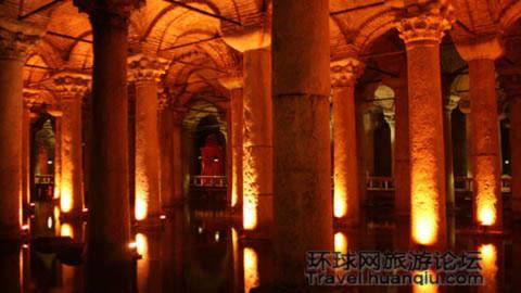 Khám phá cung điện dưới nước tại Thổ Nhĩ Kỳ