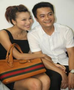 Khánh Ngọc cùng chồng sắp cưới mừng Cindy Thái Tài