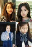"""Lộ diện """"bản sao nhí"""" của mỹ nữ Lee Min Jung"""