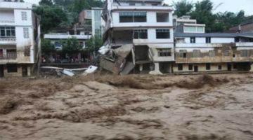 Lụt tấn công miền nam Trung Quốc