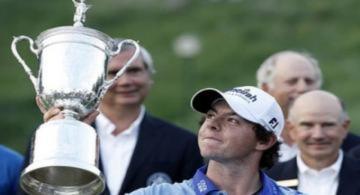 McIlroy thăng tiến trên bảng xếp hạng golf