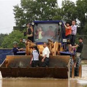 Mưa lớn tại Trung Quốc, 35 người chết