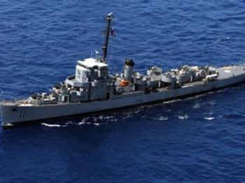 Chiến hạm hàng đầu của Philippines, Rajah Humabon, từng tham gia Thế chiến II. Ảnh: Inquirer.