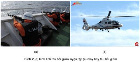 Ứng phó với chiến thuật dùng tàu dân sự quấy nhiễu của Trung Quốc