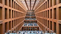 Ngỡ ngàng với thư viện đại học đẹp như mơ