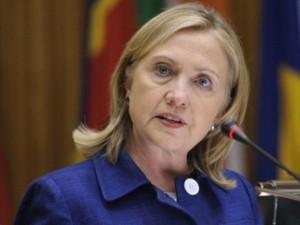 Ngoại trưởng Mỹ hối thúc Châu Phi bỏ rơi Gaddafi