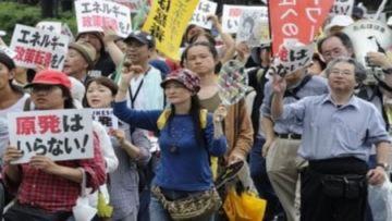 Người Nhật biểu tình chống năng lượng hạt nhân