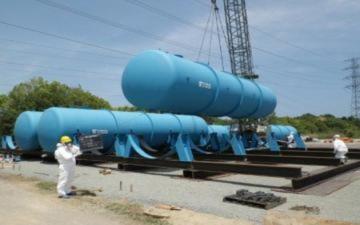 Nhật Bản ngừng xử lý nước nhiễm xạ