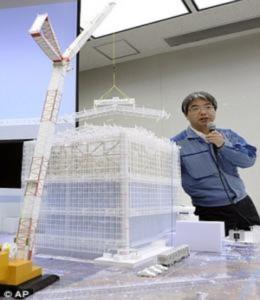 Nhật làm vỏ bọc khổng lồ che lò hạt nhân bị hỏng