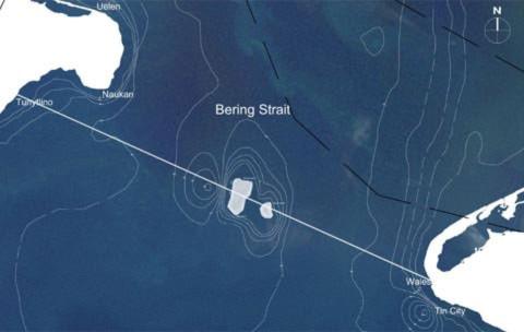 Dự án đường hầm xuyên eo biển Bering