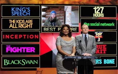 Tom Sheral và Mo'Nique công bố các đề cử giải