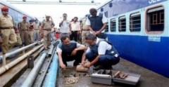 Phát hiện bom cỡ lớn trên tàu hỏa Ấn Độ