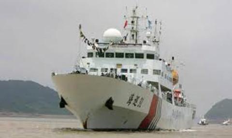 Giữa lúc căng thẳng gia tăng, Trung Quốc đã điều động một trong những tàu tuần tra hàng hải lớn nhất của họ tới Biển Đông Ảnh: china-pla