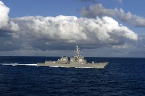 Tàu chiến Mỹ đã tới Philippines tham gia tập trận CARAT 2011