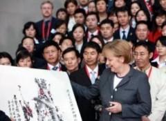 Thủ tướng Đức khiến người dân Trung Quốc ngạc nhiên